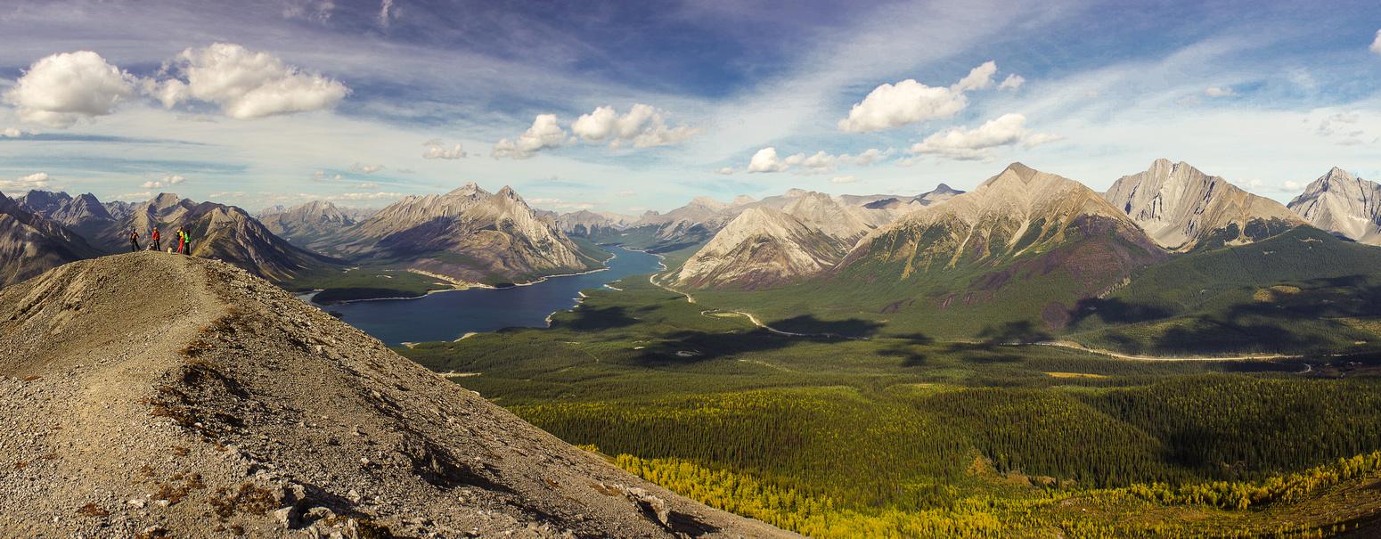 Summit of Tent Ridge.