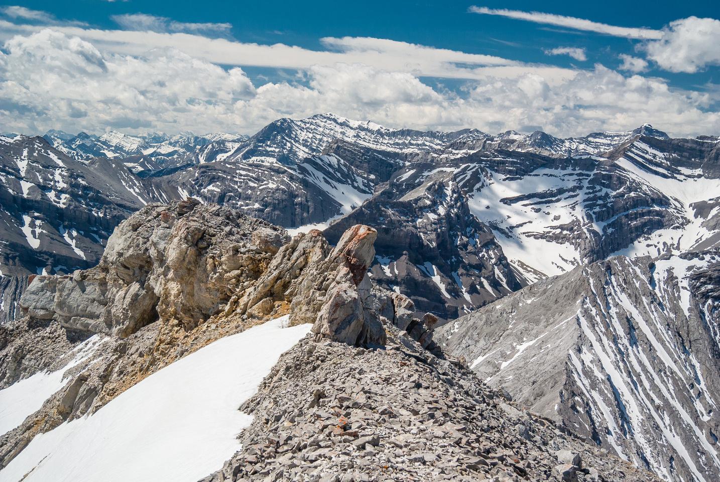 Mist Mountain is another Kananaskis peak that I really enjoyed.