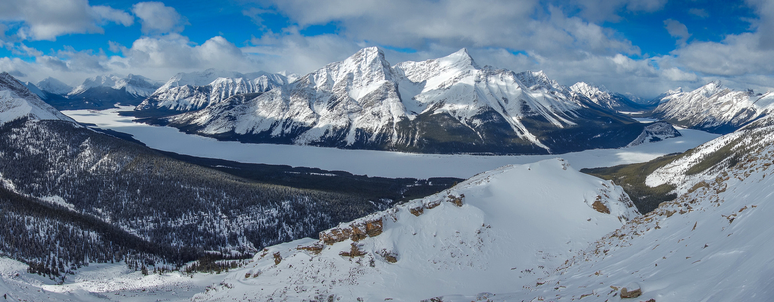 Another panorama on ascent.