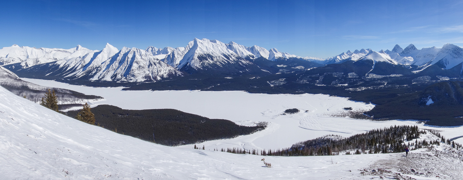 For a small summit it boasts incredible views - especially to the east and south.