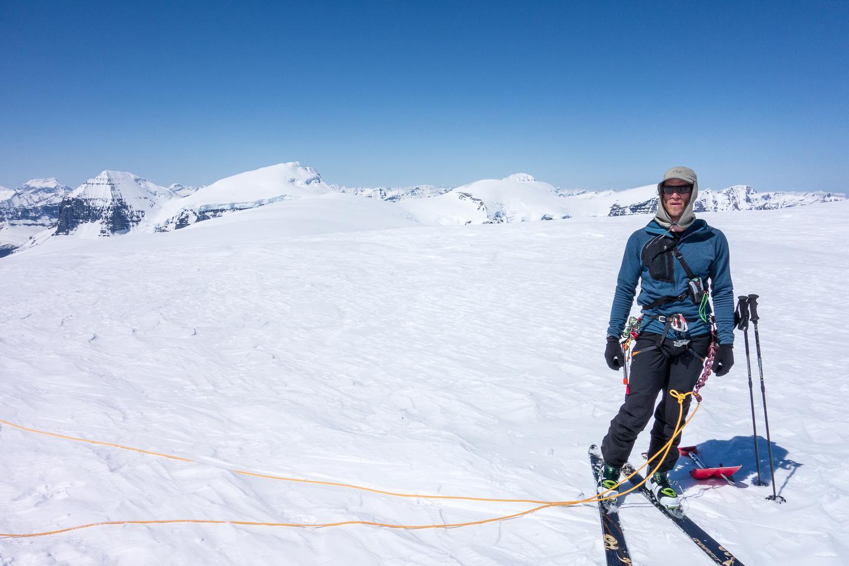 Anton on Snow Dome.