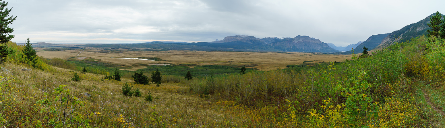 Some nice views of Waterton valley.