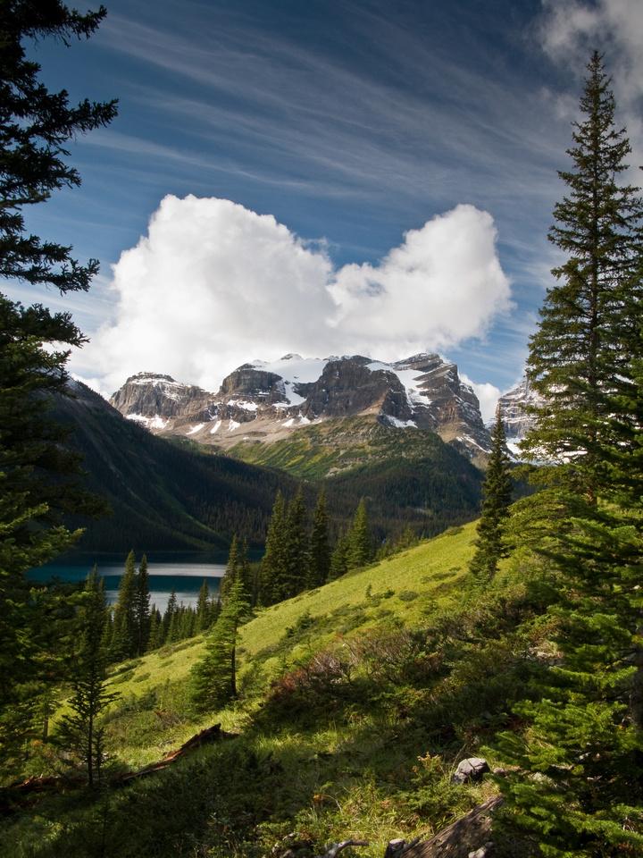 Great view of Mount Gloria.