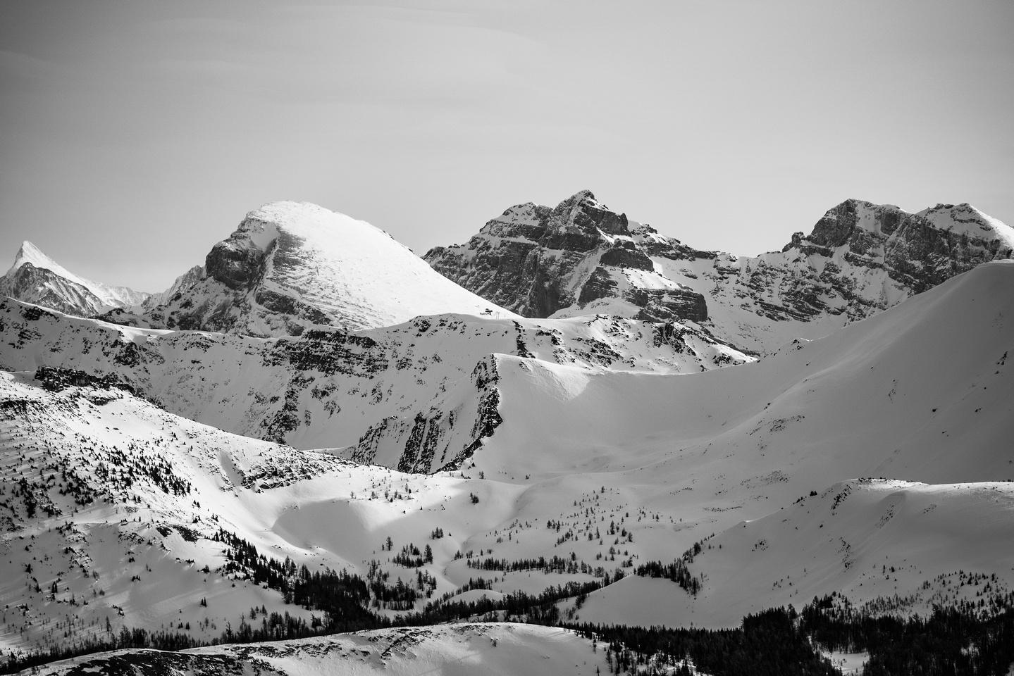 Eagle (L) Mountain and Howard Douglas (C).