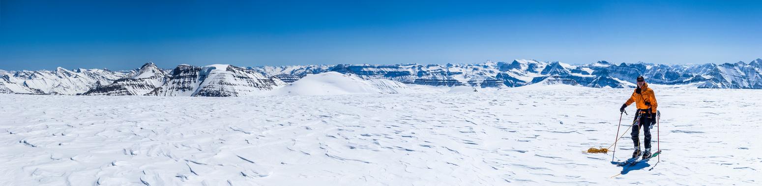 JW on Snow Dome.