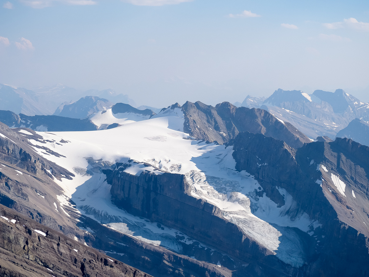 The Drummond Icefield.