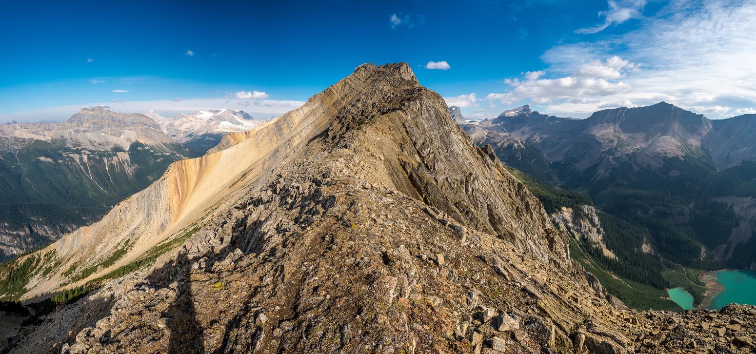 Looking forward to a fun ridge scramble!