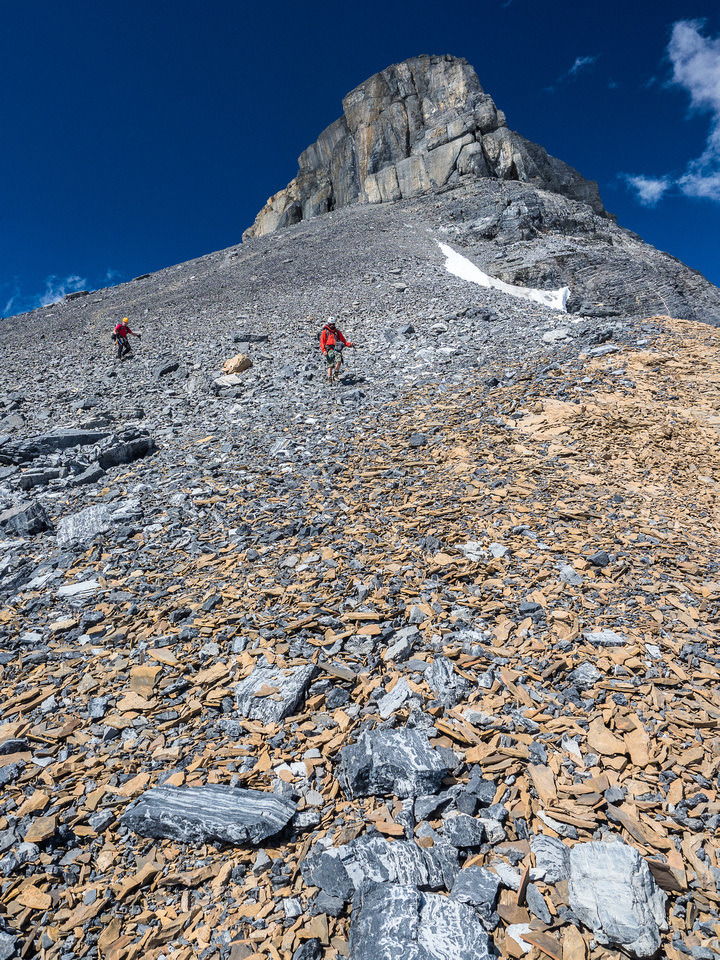 This terrain was very fast to descend.