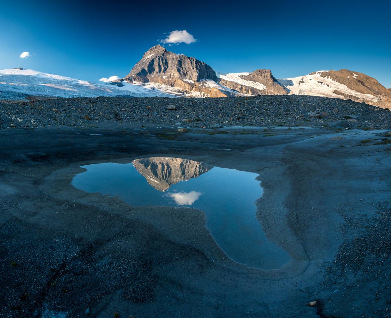 Mount Columbia reflection.