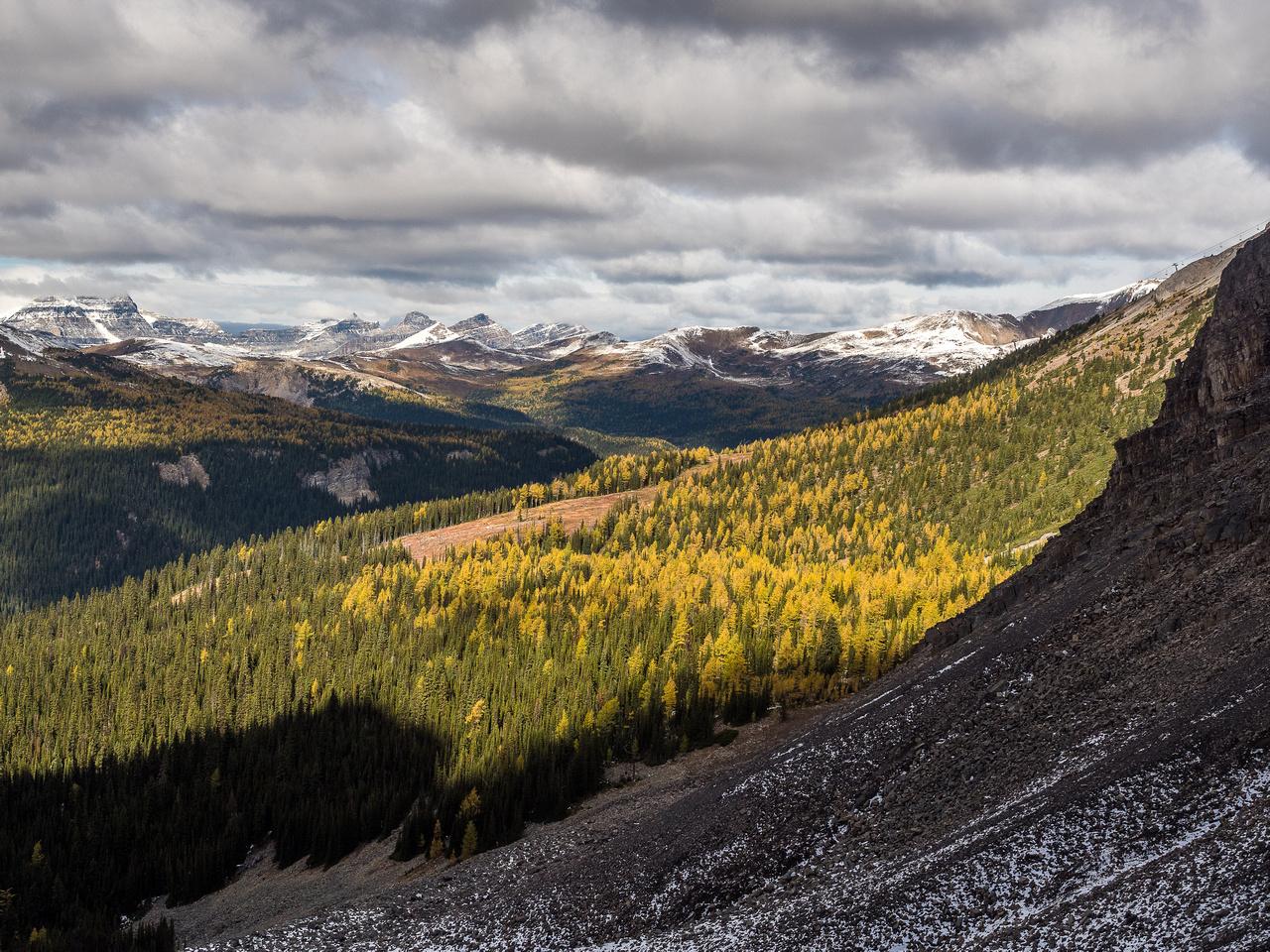 Near the bottom of the Eagle Basin.
