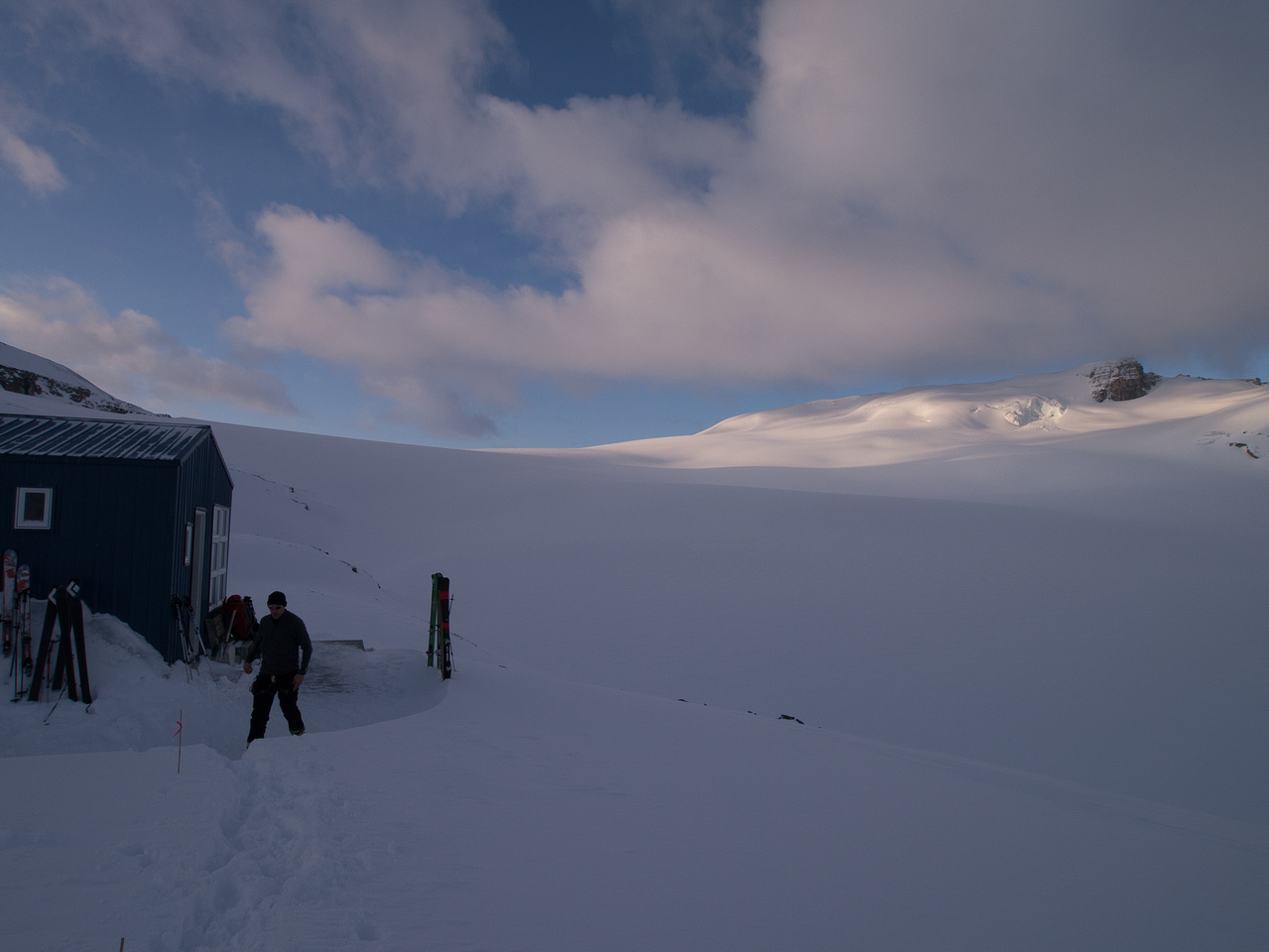 The Peyto Hut.