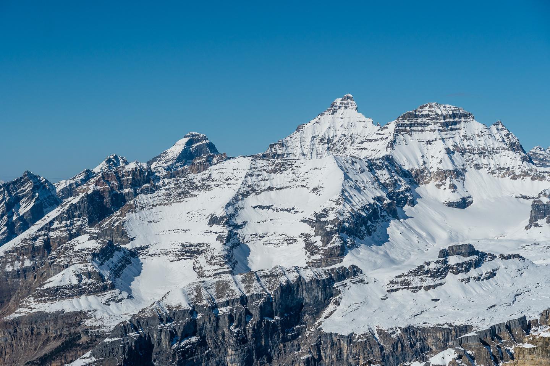 Hungabee, Deltaform and Mount Allen.