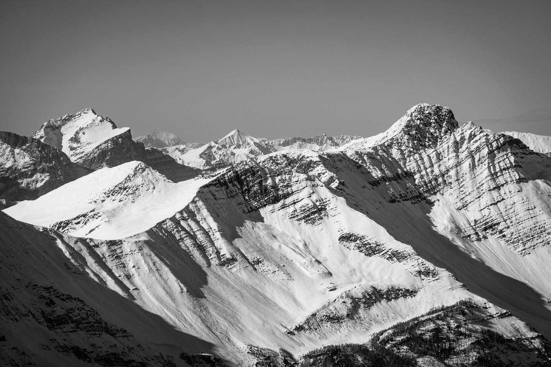 Vaux at left, Martin's Peak at right.