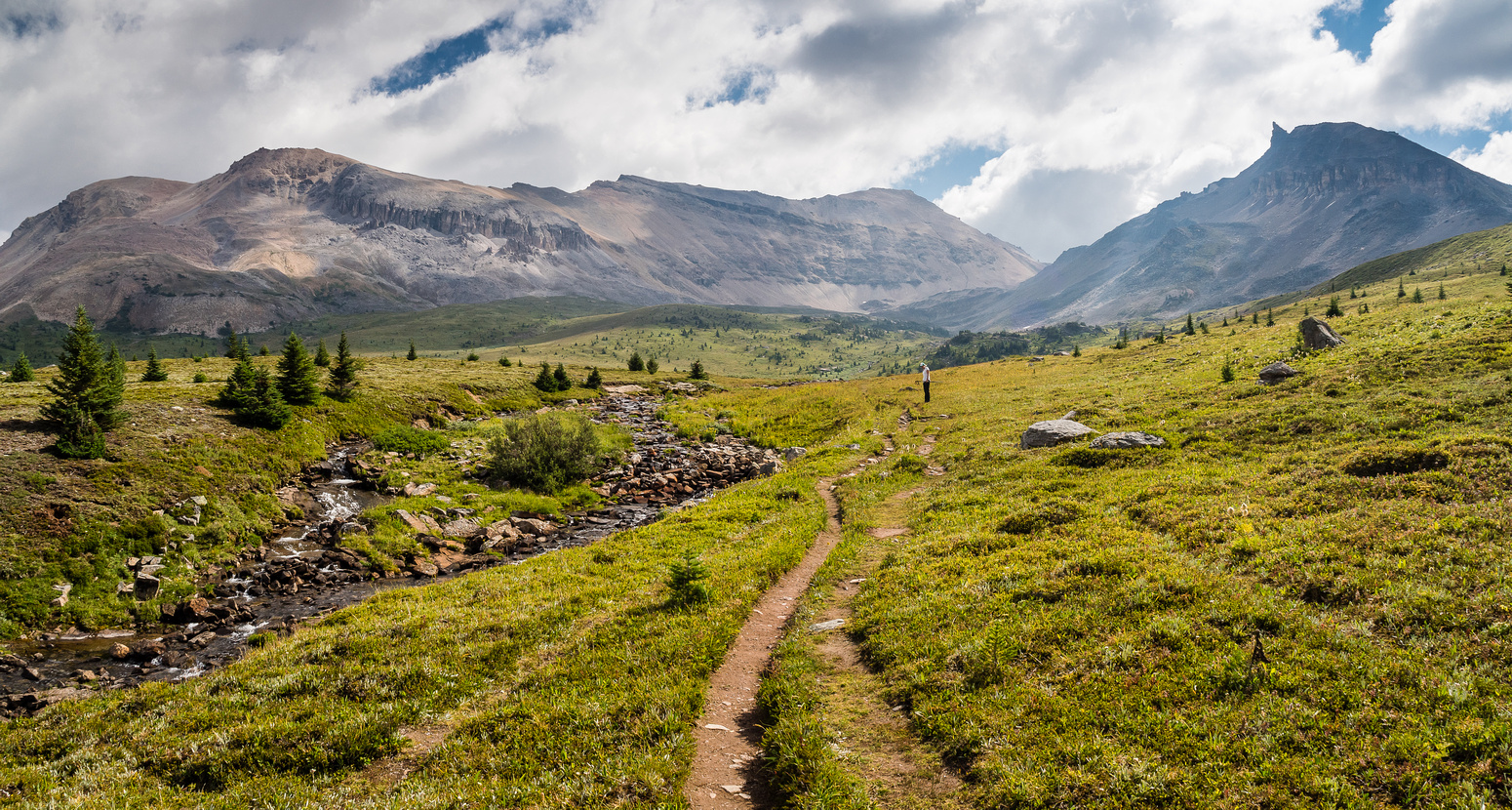 This hike will leave you satisfied pretty much no matter what the conditions - it's one of my favorite alpine meadow hikes in the Rockies.
