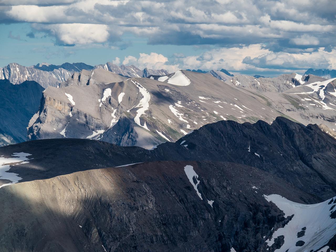 Cautley Mountain with Cascade and Gibraltar Rock.