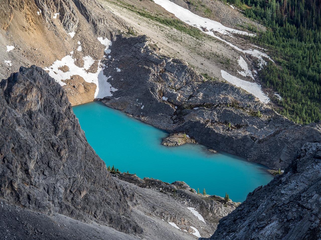 Nestor Lake is a real backcountry gem.