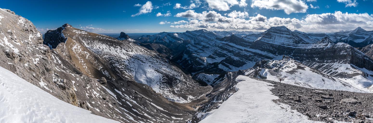 More views off the south ridge.