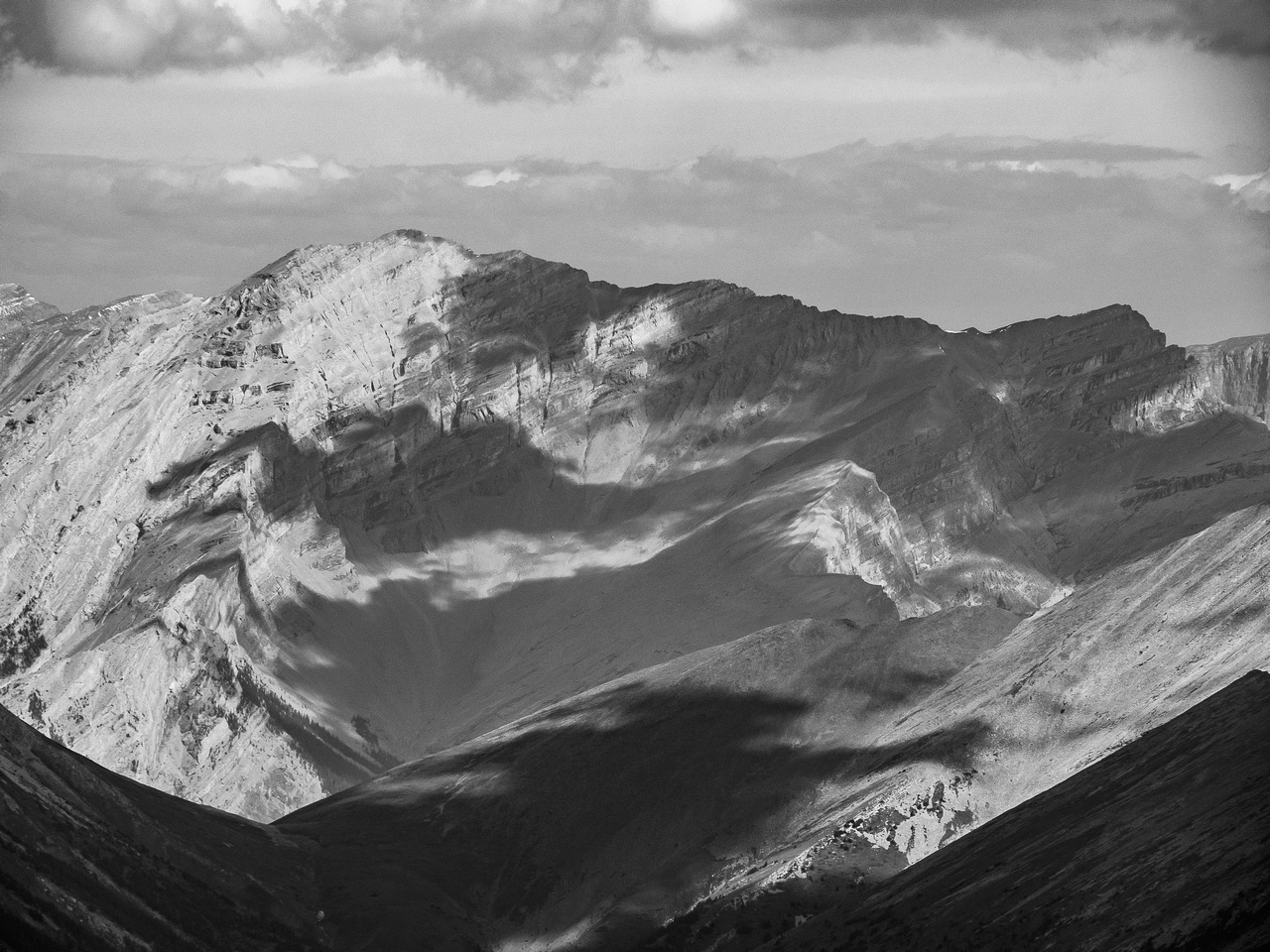 Mount Costigan is a giant peak in the Ghost Wilderness Area to the north of Townsend.
