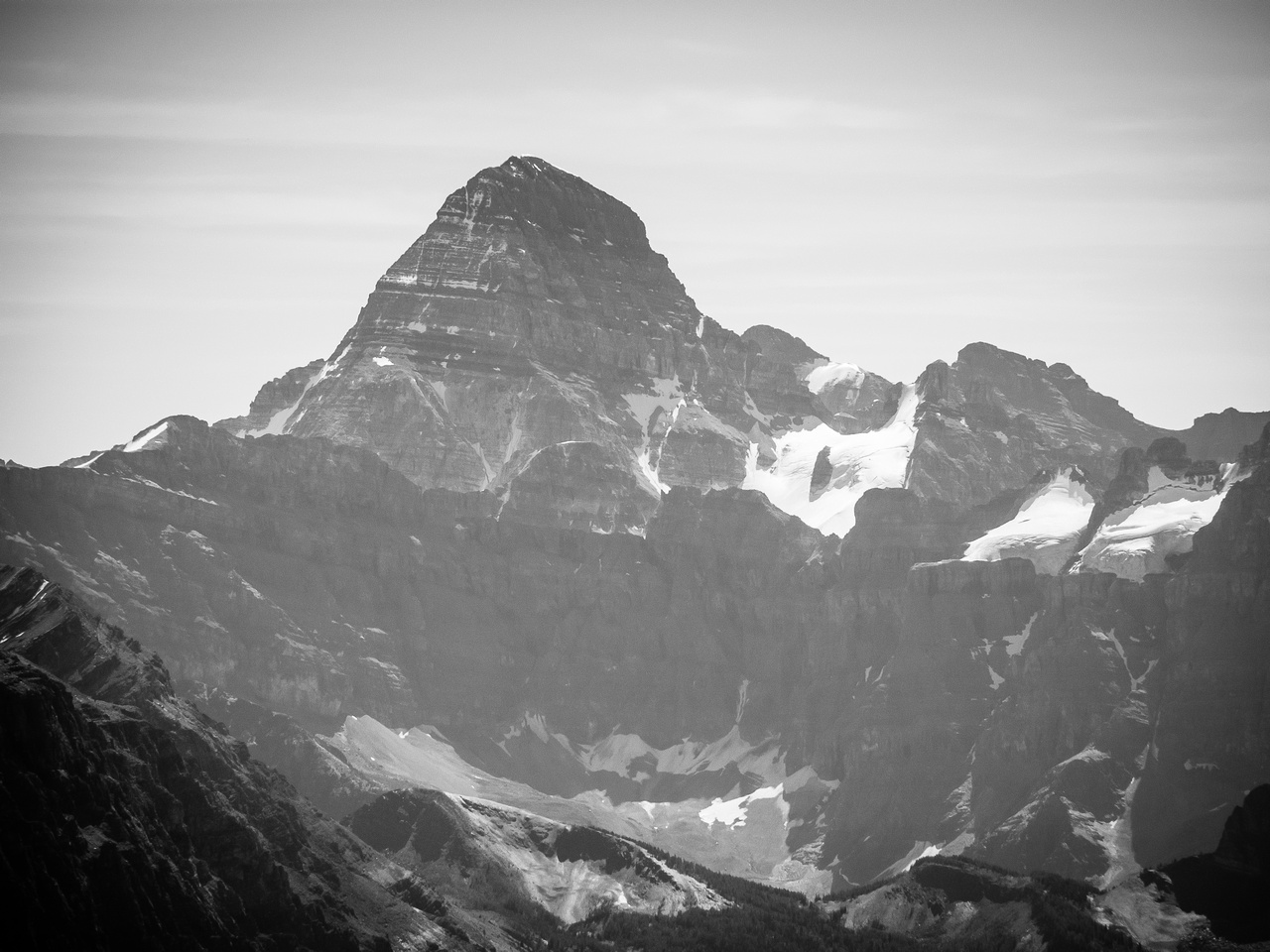 The mighty and impressive Mount Assiniboine.