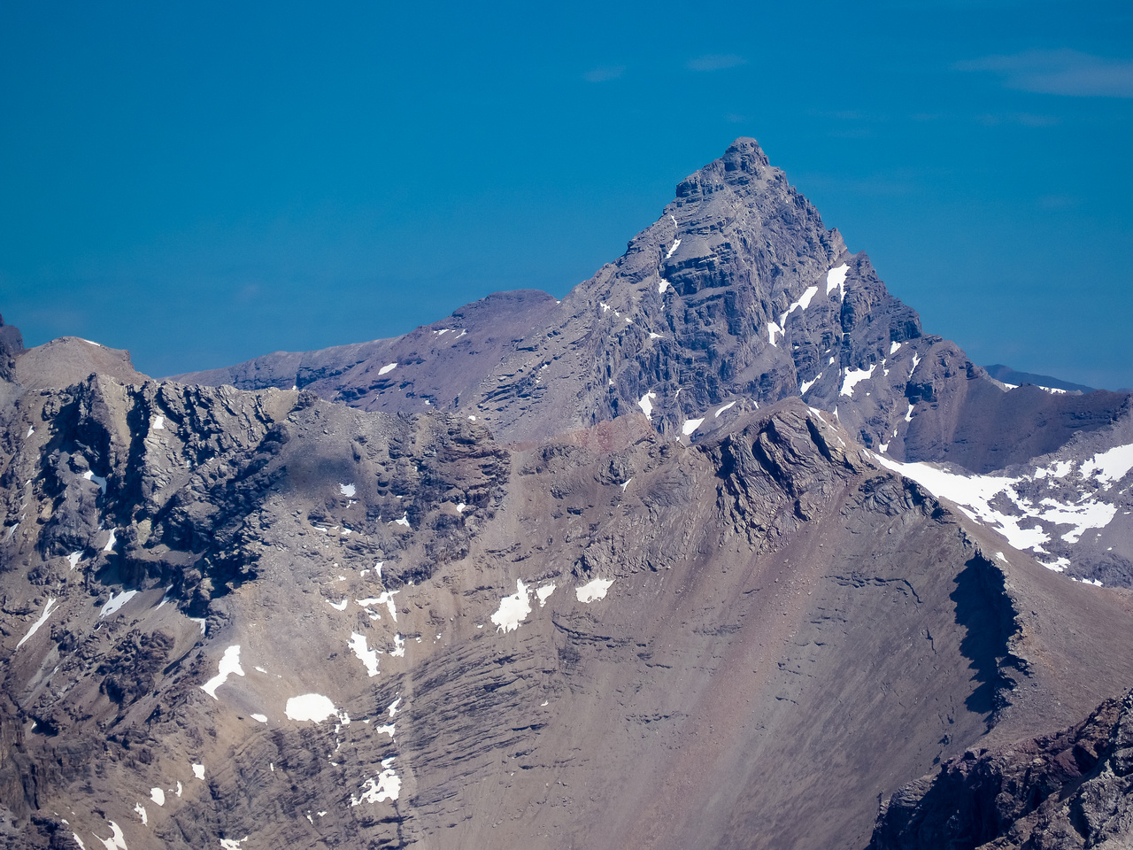 Sure - Recondite is an 11,000' pile of collapsing scree but what a gorgeous pile of scree it is!