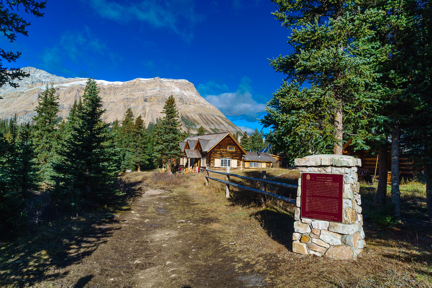 Skoki Lodge is a wonderful place.