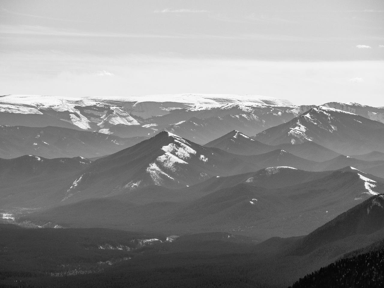 Plateau Mountain.