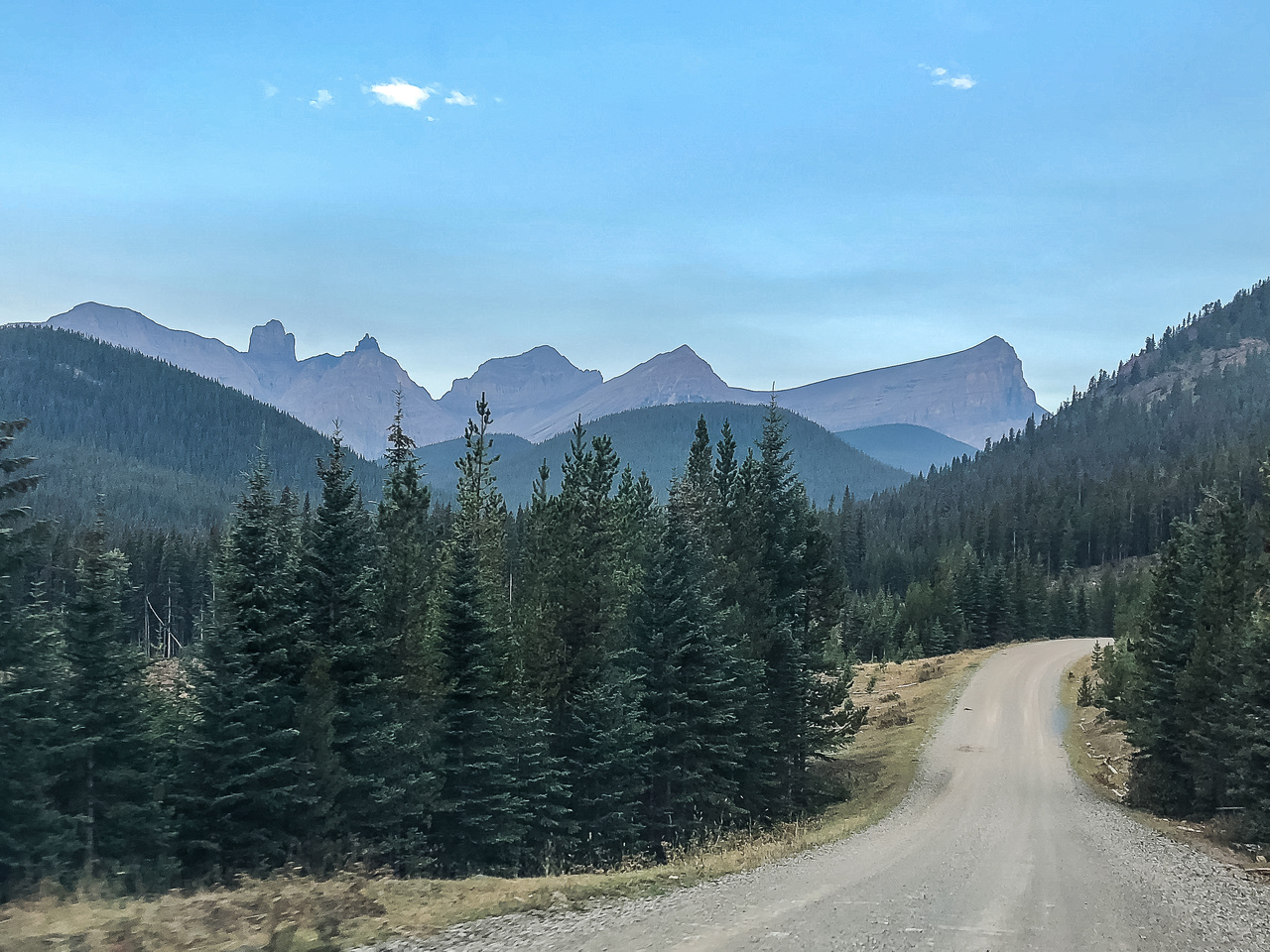 The Oldman River Road.