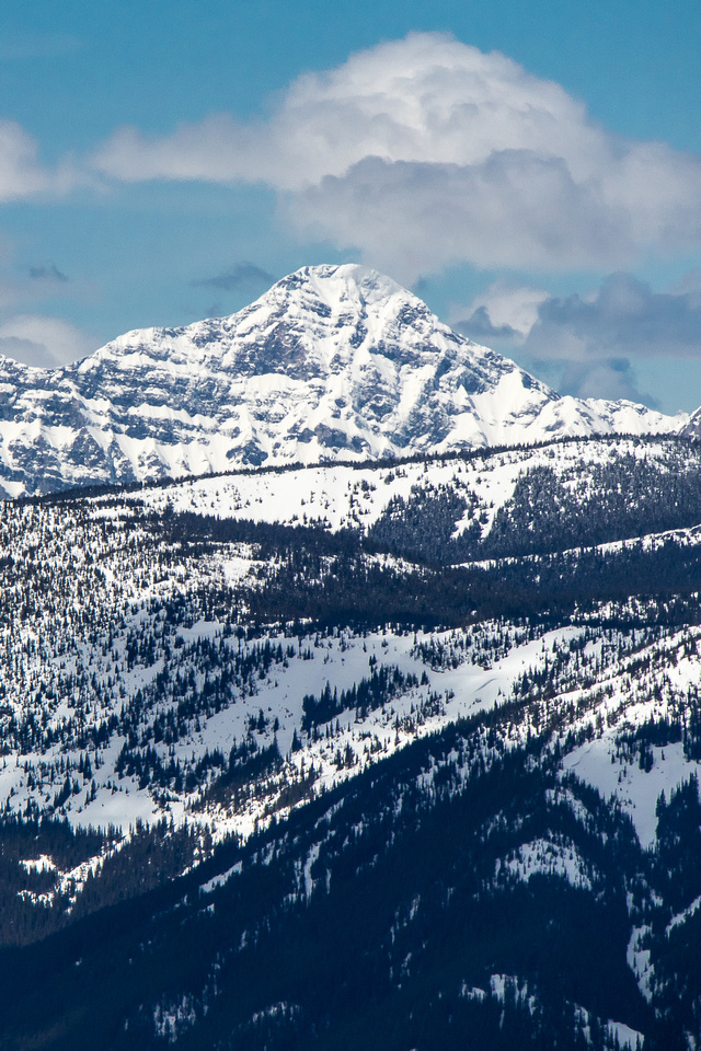 Mount Bisaro is located NW of Fernie.