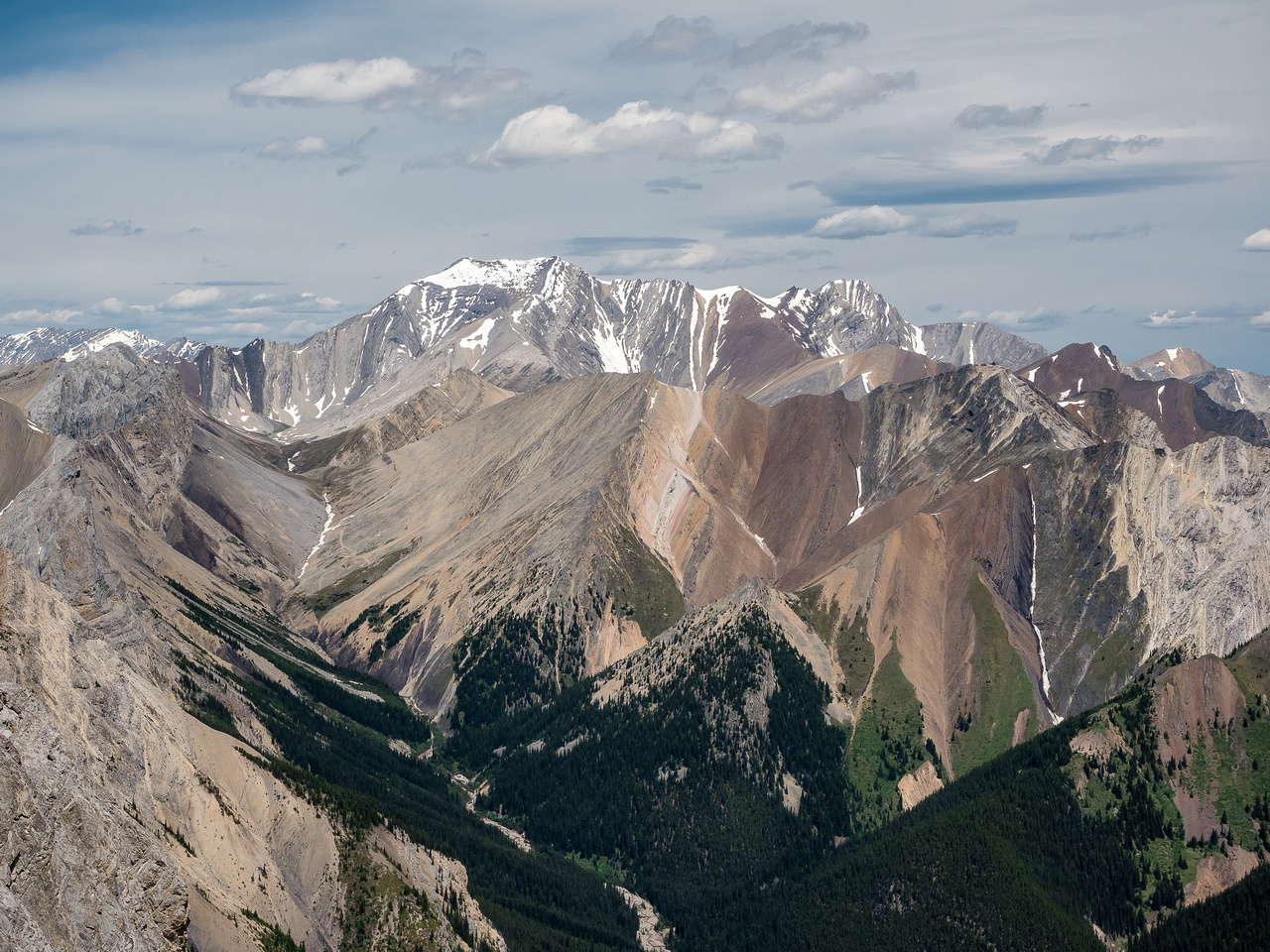 Hangman Peak was first ascended in 1996 by a group of Rick Collier's friends.