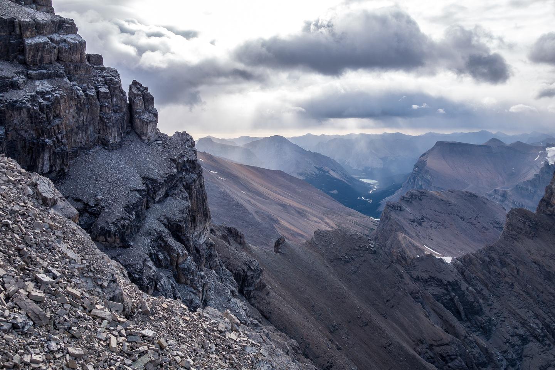Views off the ridge.