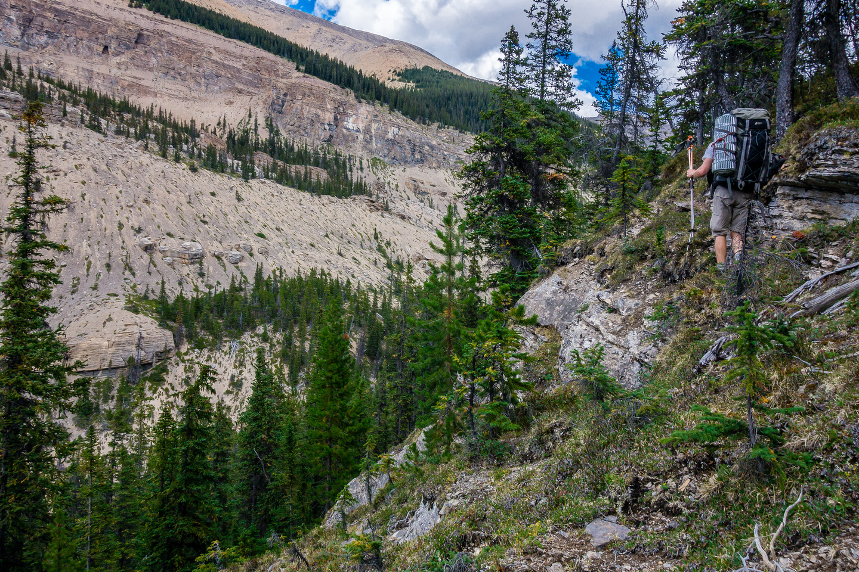 Escape above Recondite Creek.