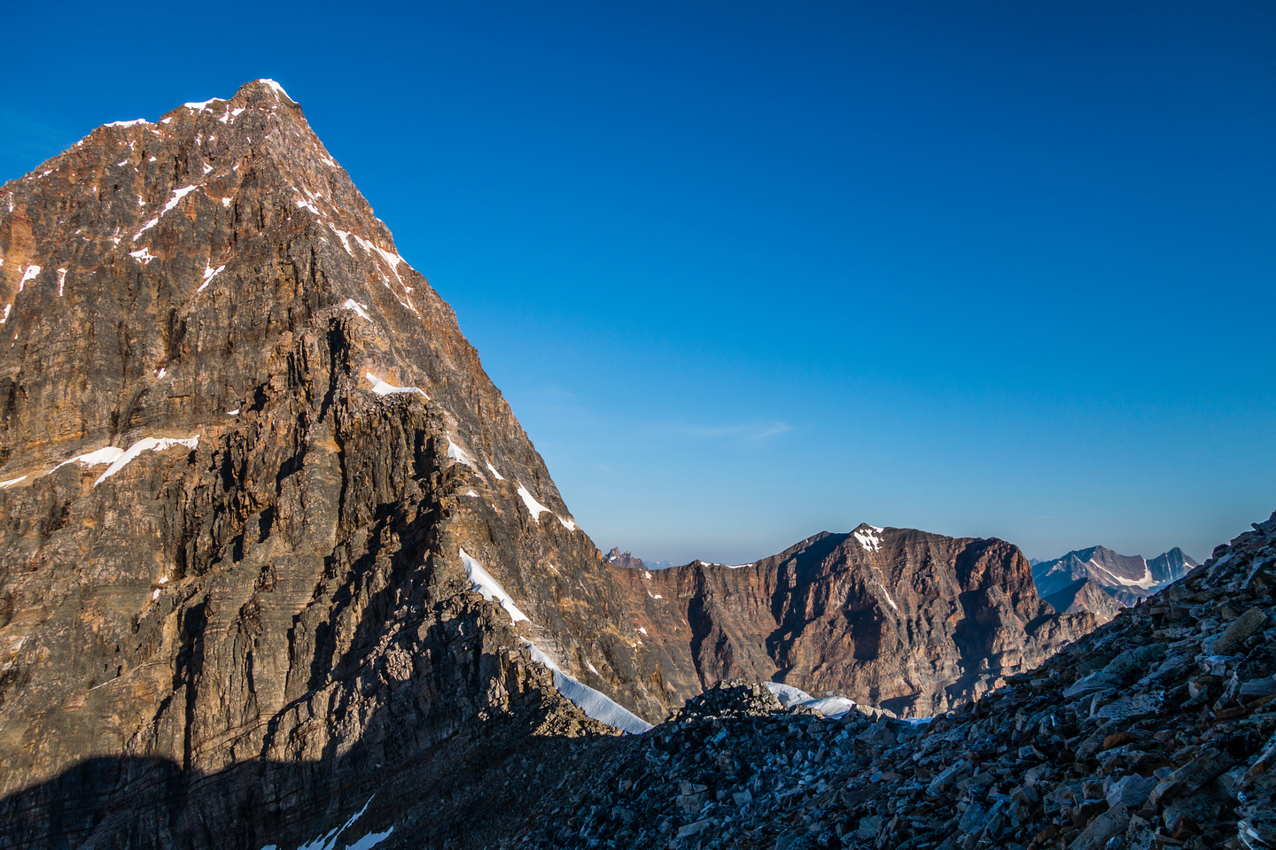 The incredible East Ridge of Edith Cavell.