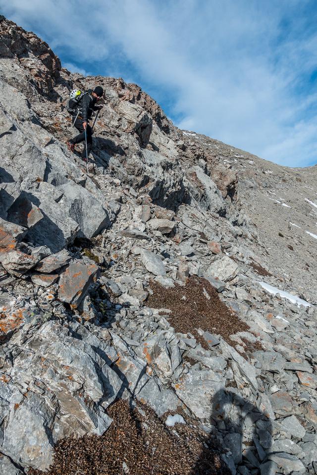 Fun scrambling on the ridge.