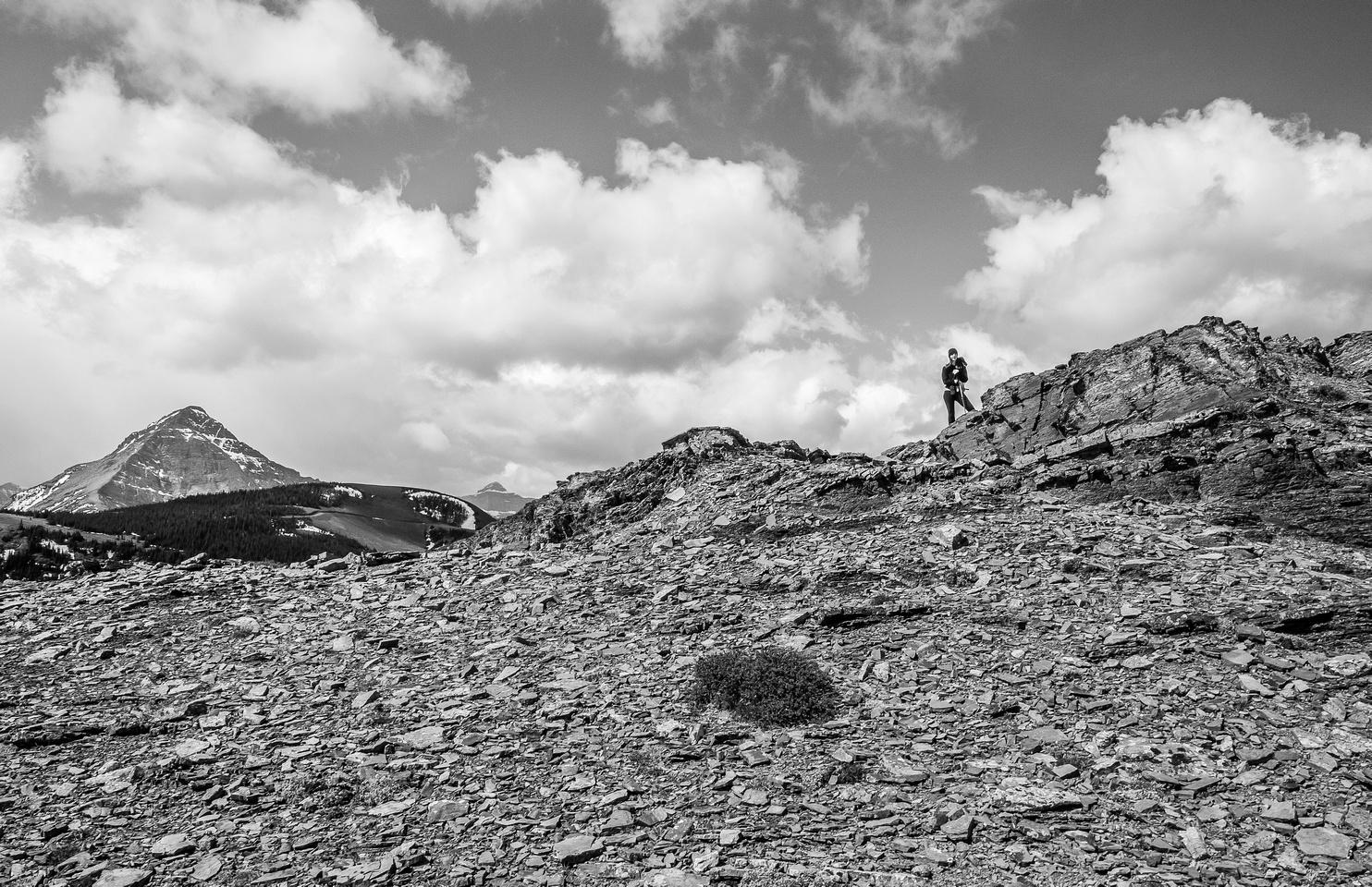 KC on the ridge.