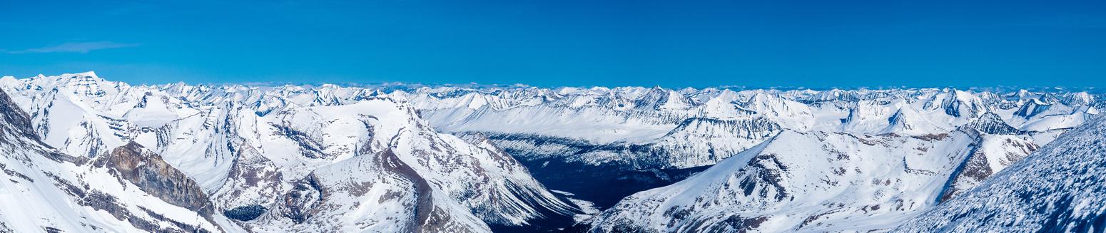Anne-Alice, Gendarme, Chown, Wolverine, Palu, Mumm, Calumet Ridge, Swoda, Calumet Peak, Moose Pass, Chetang Ridge, Tatei Ridge