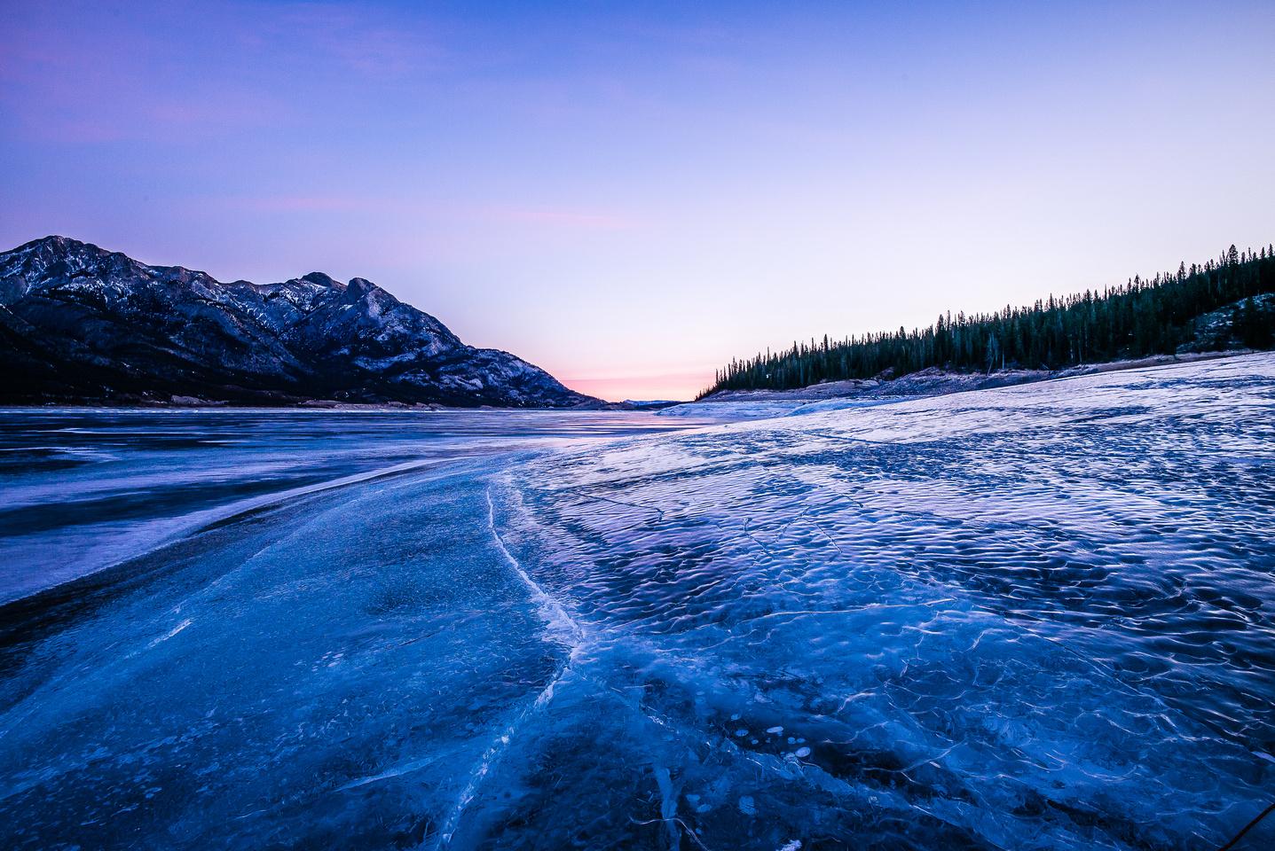 Abraham Lake.