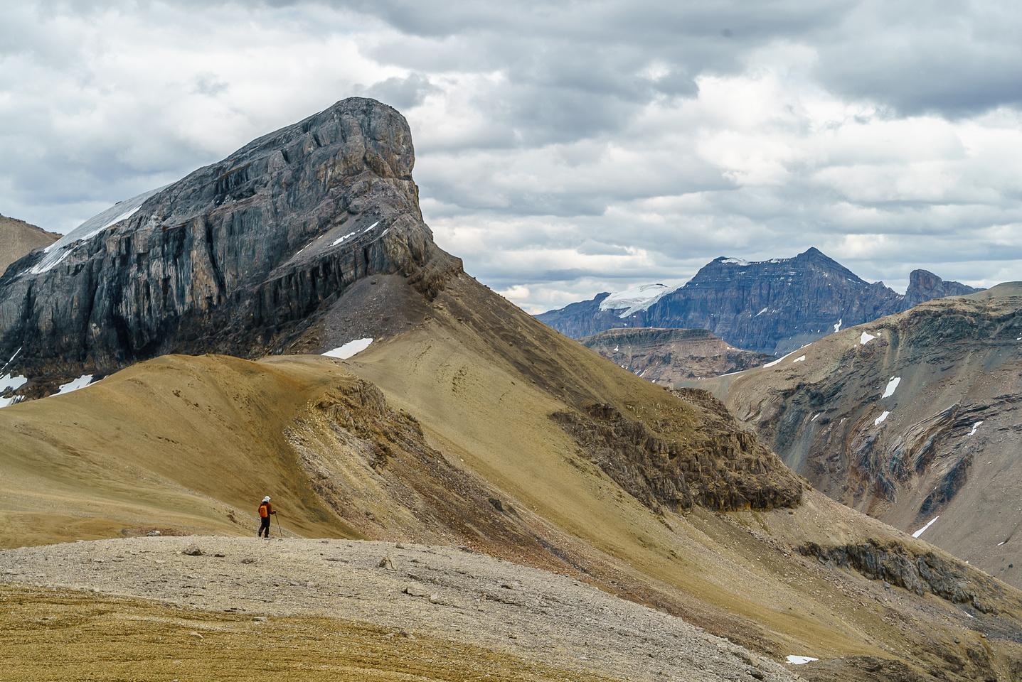 Lovely hiking terrain.