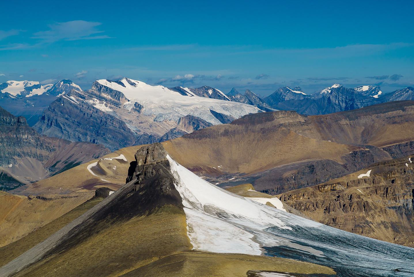 Mount Wilson is another big peak in the area.