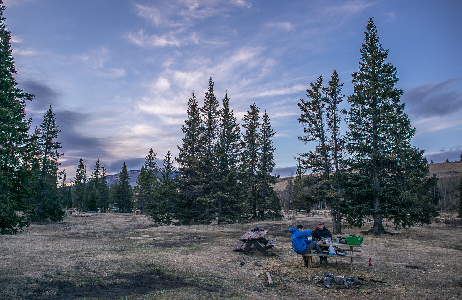 The Bighorn Campground isn't fancy but it works and it's free.