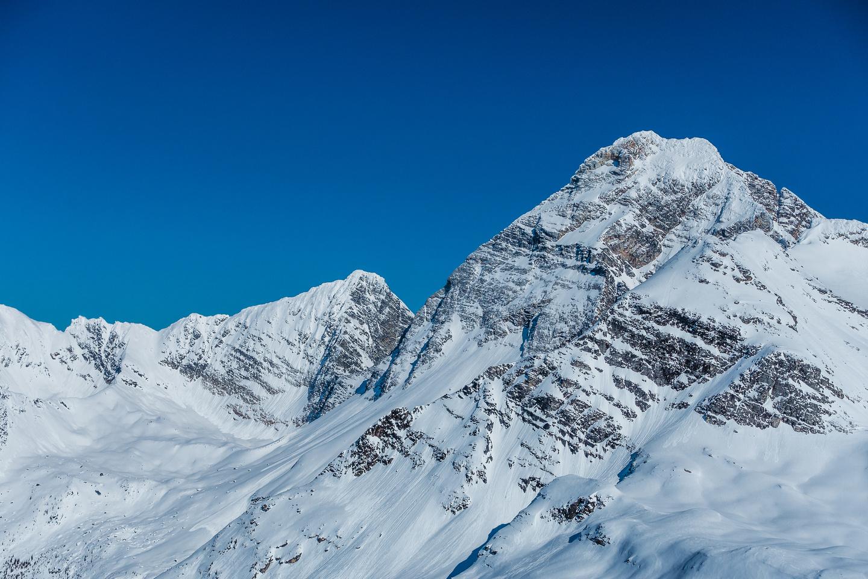 Mount Sir Donald and Uto Peak.
