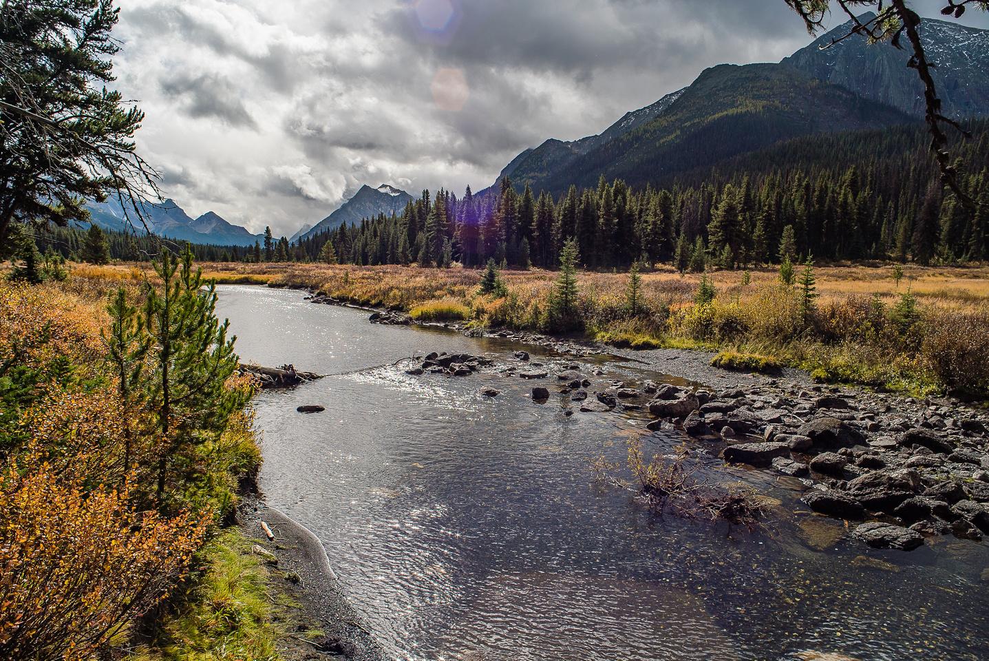 The Spray River.