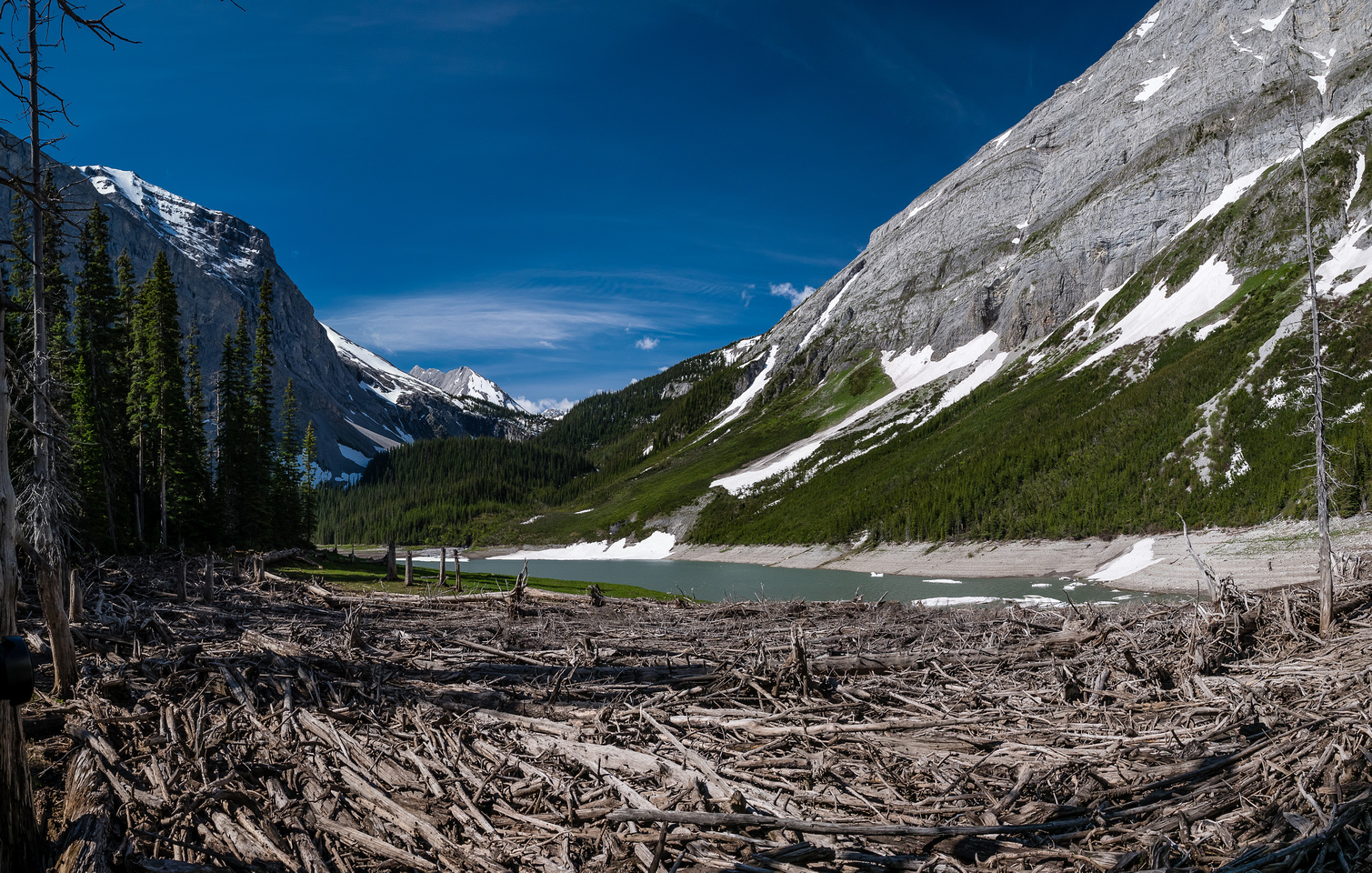 Gorgeous Hidden Lake. And it's low water - a bonus.