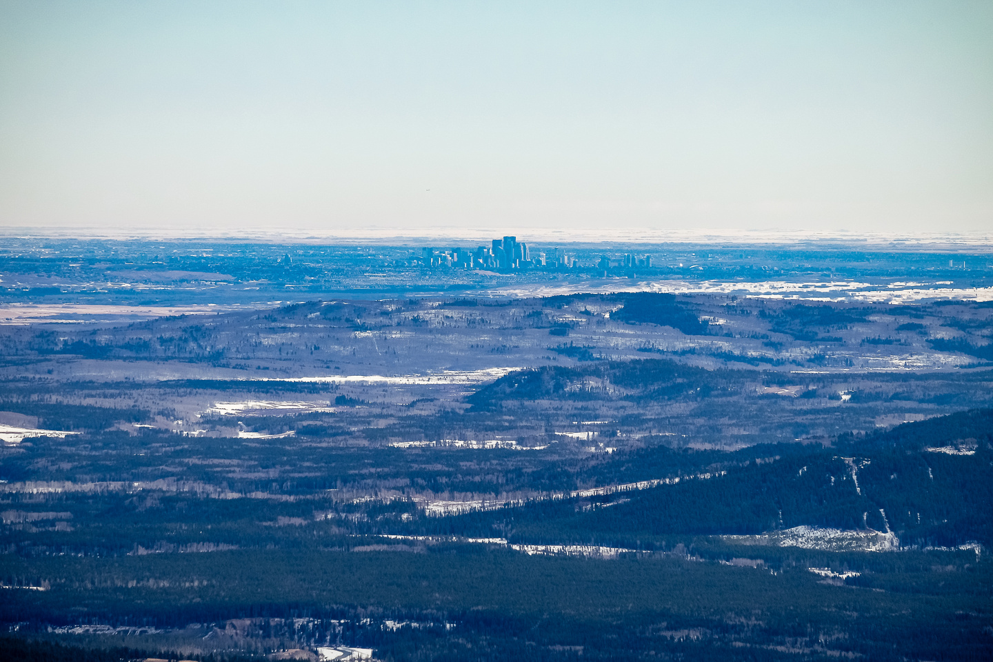 Calgary is clearly visible.