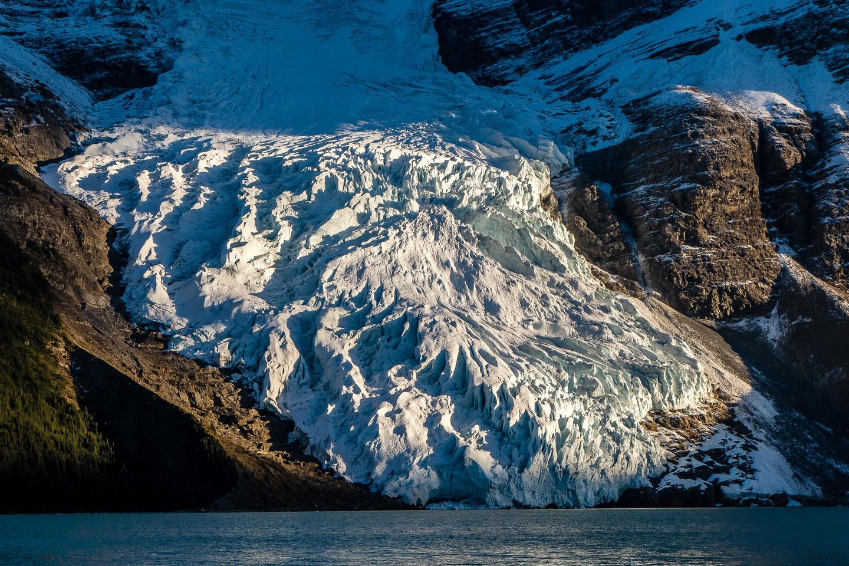 Berg Glacier and Lake.