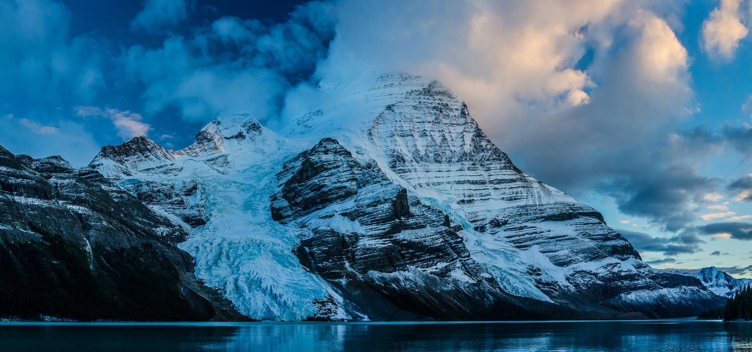 Mount Robson and Berg Lake.