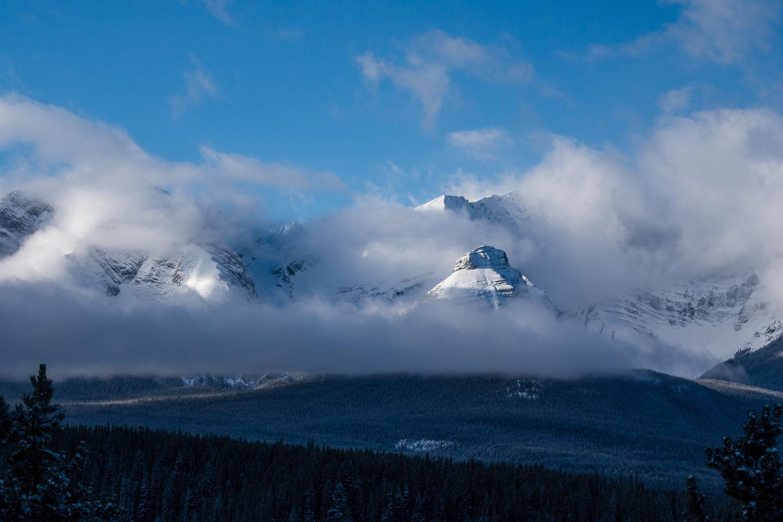 Views towards Mount Sarrail.