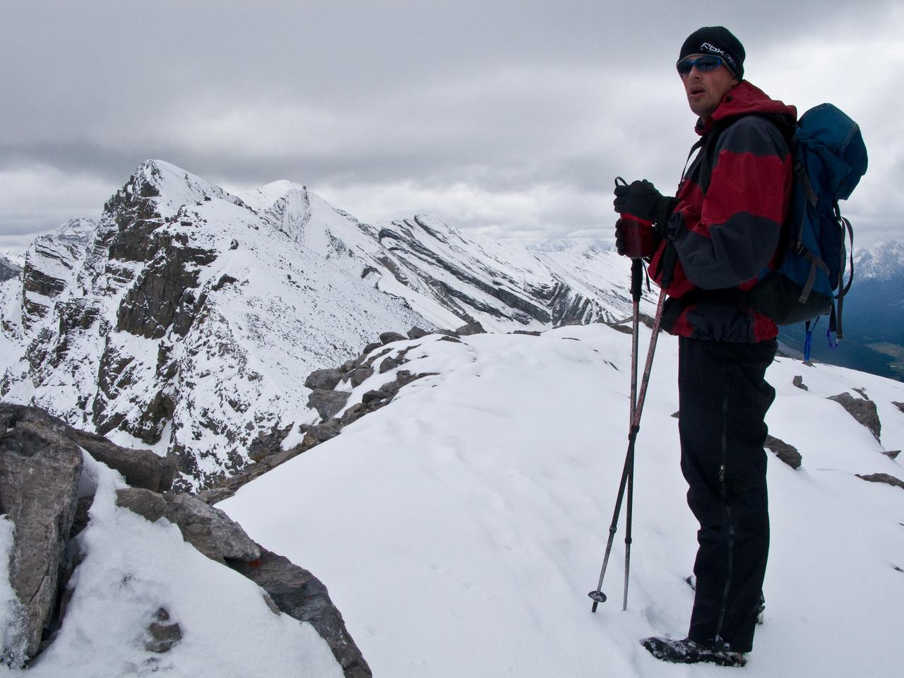 Jon on the west summit of Og Mountain.
