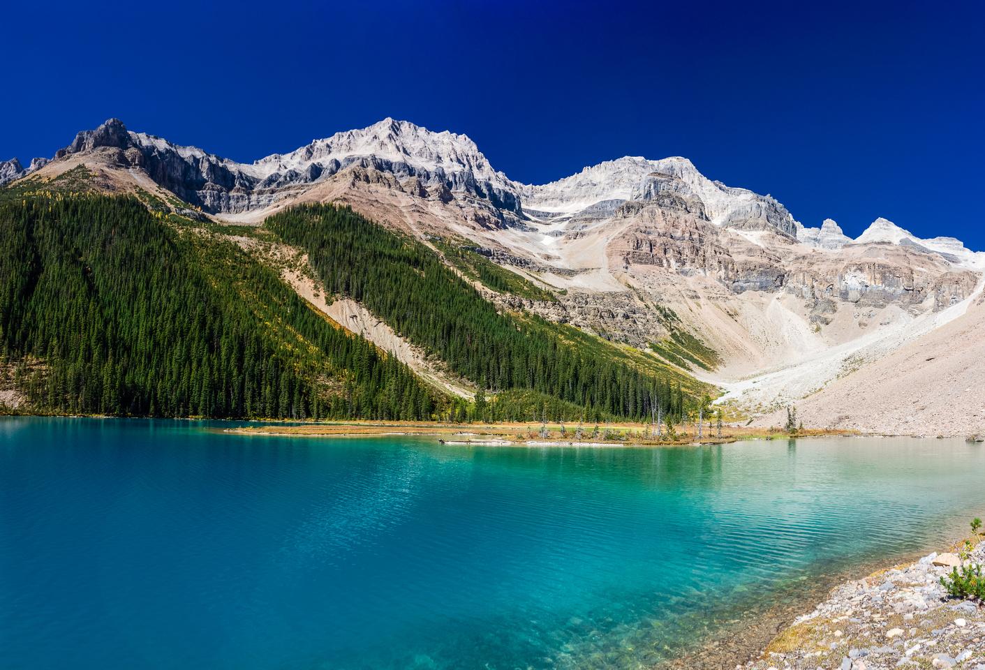 Assiniboine Lake.