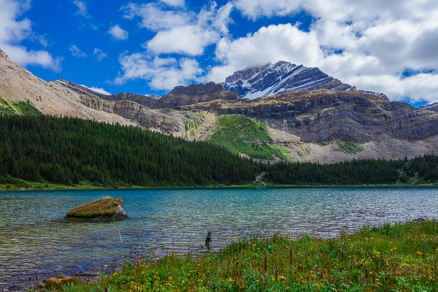 The gorgeous environs of the fifth Geraldine Lake.