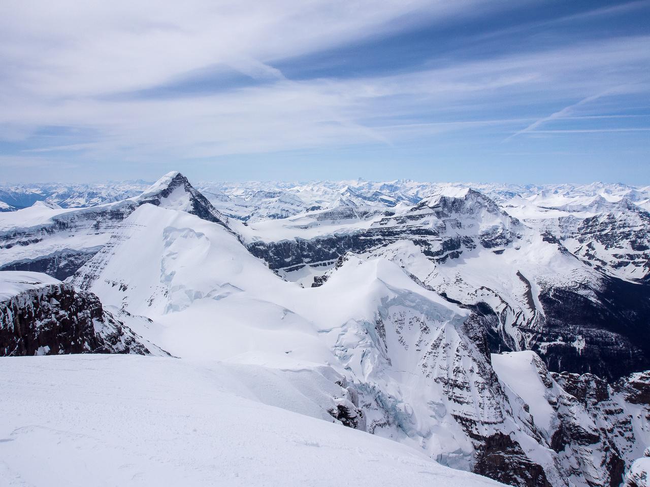 Mount Columbia and King Edward.